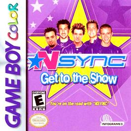*NSYNC: Get to the Show - Game Boy Color - Used
