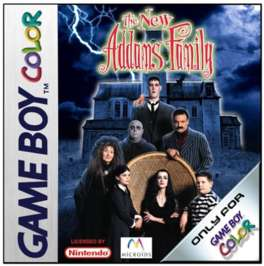 Addams Family: The Series - Game Boy Color - Used
