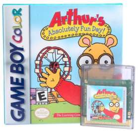 Arthur's Absolutely Fun Day - Game Boy Color - Used