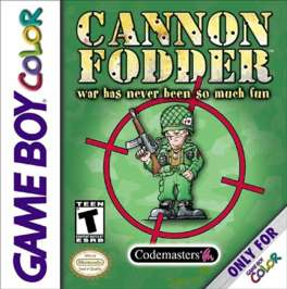 Cannon Fodder - Game Boy Color - Used