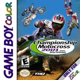 Championship Motocross 2001 Featuring Ricky Carmichael - Game Boy Color - Used