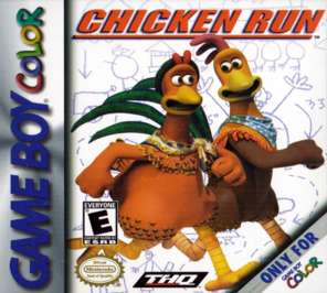 Chicken Run - Game Boy Color - Used