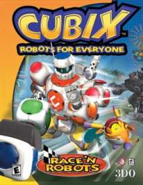Cubix: Robots for Everyone: Race 'N Robots - Game Boy Color - Used