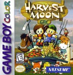 Harvest Moon GBC - Game Boy Color - Used