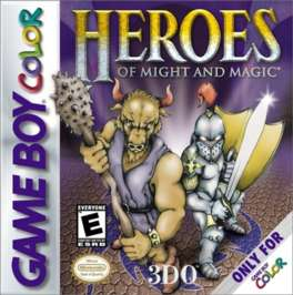 Heroes of Might and Magic - Game Boy Color - Used