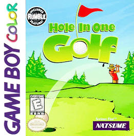 Hole in One Golf - Game Boy Color - Used