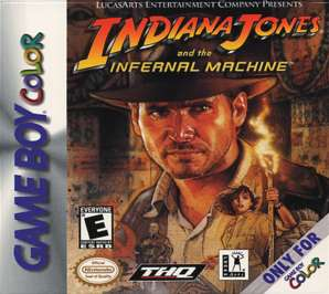Indiana Jones and the Infernal Machine - Game Boy Color - Used