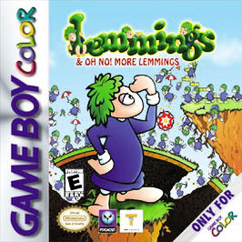 Lemmings - Game Boy Color - Used