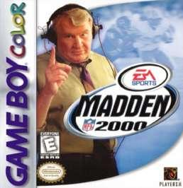 Madden NFL 2000 - Game Boy Color - Used