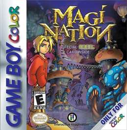 Magi-Nation - Game Boy Color - Used