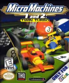 Micro Machines I & II: Twin Turbo - Game Boy Color - Used