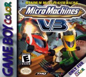 Micro Machines V3 - Game Boy Color - Used