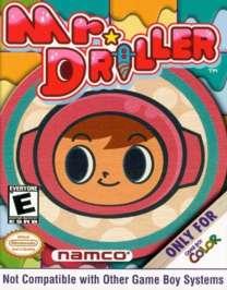 Mr. Driller - Game Boy Color - Used