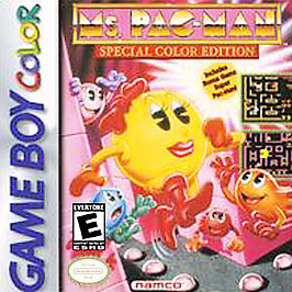 Ms. Pac-Man - Game Boy Color - Used