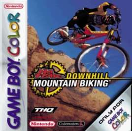 No Fear Downhill Mountain Bike Racing - Game Boy Color - Used