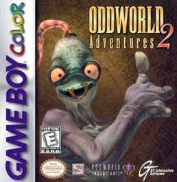 Oddworld Adventures 2 - Game Boy Color - Used
