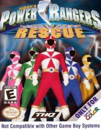 Power Rangers: Lightspeed Rescue - Game Boy Color - Used