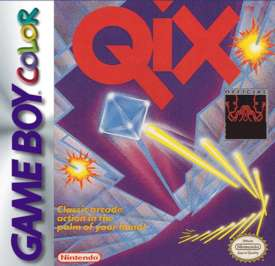 Qix Adventure - Game Boy Color - Used