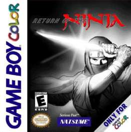 Return of the Ninja - Game Boy Color - Used