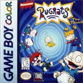 Rugrats: Time Travelers - Game Boy Color - Used