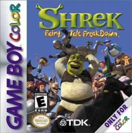 Shrek: Fairy Tale FreakDown - Game Boy Color - Used