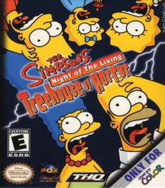 Simpsons: Night of the Living Treehouse of Horror - Game Boy Color - Used