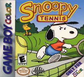 Snoopy Tennis - Game Boy Color - Used