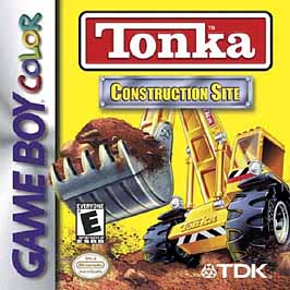 Tonka: Construction Site - Game Boy Color - Used