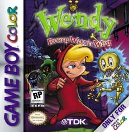 Wendy: Every Witch Way - Game Boy Color - Used