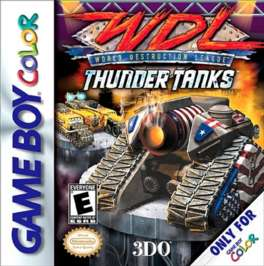 World Destruction League Thunder Tanks - Game Boy Color - Used