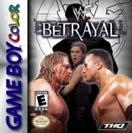 WWF Betrayal - Game Boy Color - Used