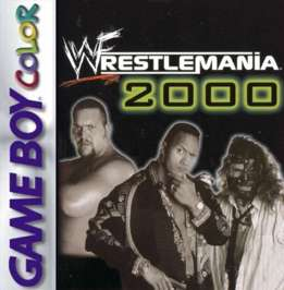 WWF Wrestlemania 2000 - Game Boy Color - Used