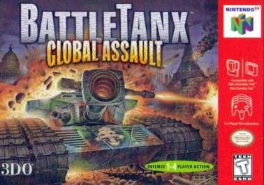 BattleTanx: Global Assault - N64 - Used