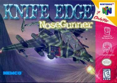 Knife Edge: Nose Gunner - N64 - Used
