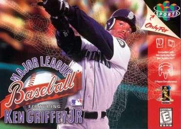 sports shoes 78069 0cc8a Major League Baseball Featuring Ken Griffey Jr - N64 - Used
