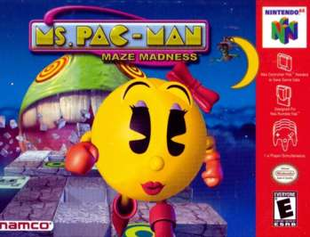 Ms. Pac-Man Maze Madness - N64 - Used