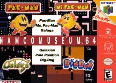 Namco Museum 64 - N64 - Used