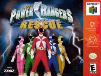 Power Rangers Lightspeed Rescue - N64 - Used