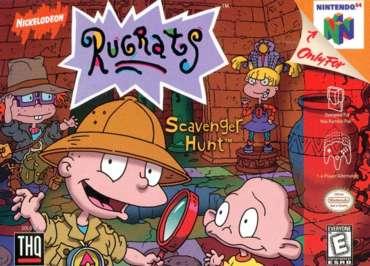 Rugrats: Scavenger Hunt - N64 - Used