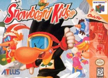 Snowboard Kids - N64 - Used