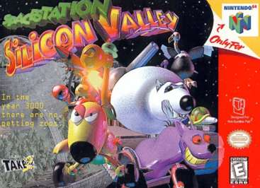 Space Station Silicon Valley - N64 - Used