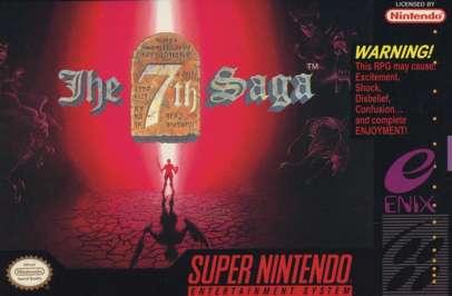 7th Saga - SNES - Used