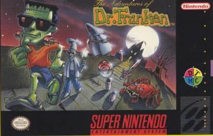 Adventures of Dr. Franken - SNES - Used