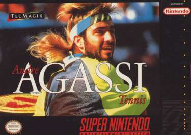 Andre Agassi Tennis - SNES - Used