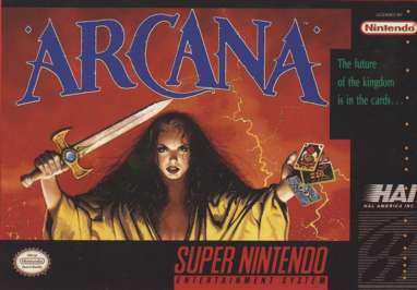 Arcana - SNES - Used