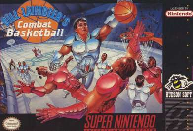Bill Laimbeer's Combat Basketball - SNES - Used