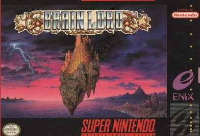 Brain Lord - SNES - Used