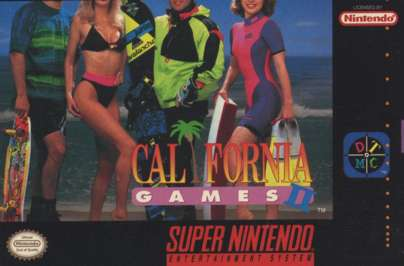 California Games II - SNES - Used