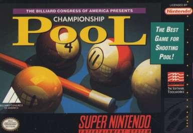 Championship Pool - SNES - Used