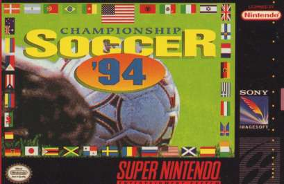 Championship Soccer '94 - SNES - Used
